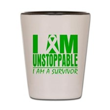 Unstoppable Bile Duct Cancer Shot Glass