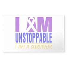 Unstoppable Bladder Cancer Decal