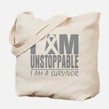 Unstoppable Brain Cancer Tote Bag
