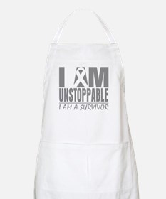Unstoppable Brain Cancer Apron