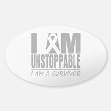 Unstoppable Brain Cancer Decal