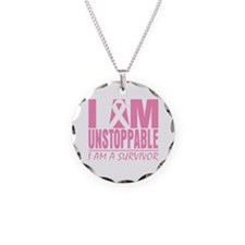 Unstoppable Breast Cancer Necklace