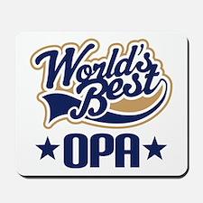 Opa (Worlds Best) Mousepad