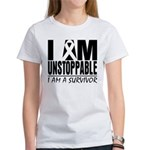 Unstoppable Carcinoid Cancer Women's T-Shirt