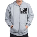 Unstoppable Carcinoid Cancer Zip Hoodie