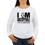 Unstoppable Carcinoid Cancer Women's Long Sleeve T