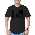 Unstoppable Carcinoid Cancer Men's Fitted T-Shirt