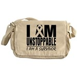 Unstoppable Carcinoid Cancer Messenger Bag