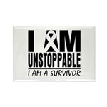 Unstoppable Carcinoid Cancer Rectangle Magnet (10