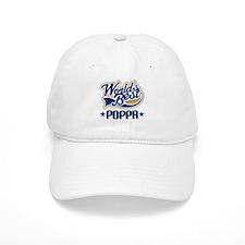 Poppa (Worlds Best) Baseball Cap