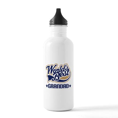 Worlds Best Grandad Stainless Water Bottle 1.0L