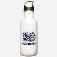 Worlds Best Grandad Water Bottle