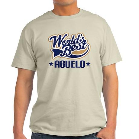 Worlds Best Abuelo Light T-Shirt