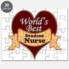 Cute Nursing student Puzzle