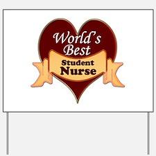 Funny Nursing student Yard Sign