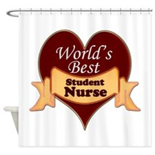 Cute Nursing student Shower Curtain