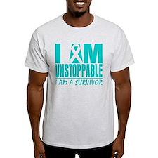 Unstoppable Cervical Cancer T-Shirt