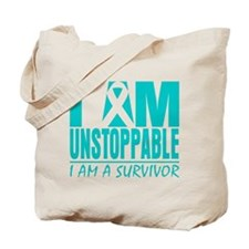 Unstoppable Cervical Cancer Tote Bag