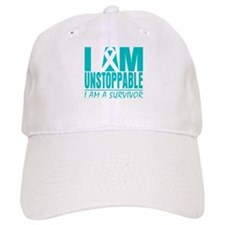 Unstoppable Cervical Cancer Baseball Cap