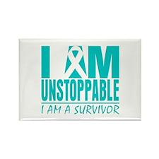 Unstoppable Cervical Cancer Rectangle Magnet (100
