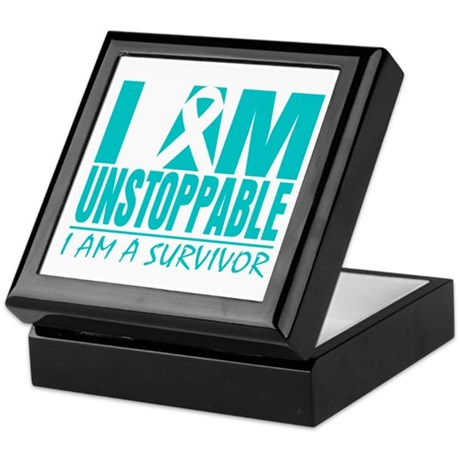 Unstoppable Cervical Cancer Keepsake Box