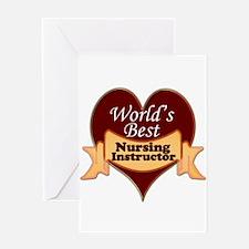 Unique Nursing instructor Greeting Card