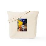 Cafe - Shiba Inu (std) Tote Bag