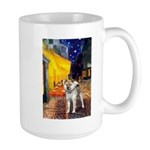 Cafe - Shiba Inu (std) Large Mug