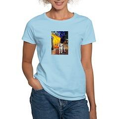 Cafe - Shiba Inu (std) Women's Light T-Shirt