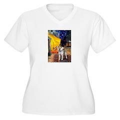 Cafe - Shiba Inu (std) T-Shirt