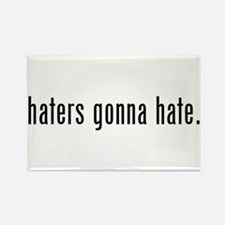 haters Rectangle Magnet