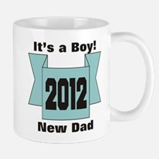 2012 New Dad of Boy Mug