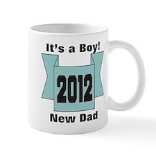 2012 New Dad of Boy Mug