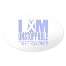 Unstoppable Esophageal Cancer Decal
