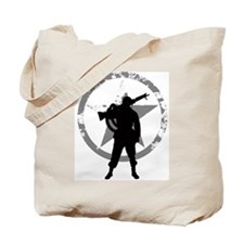Machine gunner Tote Bag