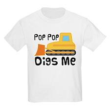 Love PopPop Bulldozer T-Shirt