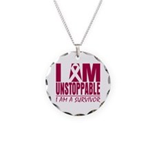 Unstoppable Head Neck Cancer Necklace