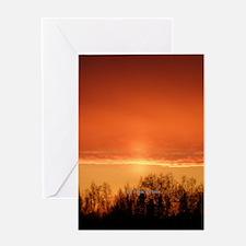 Midnight Sun Greeting Card