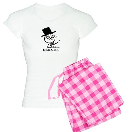 like a sir Women's Light Pajamas