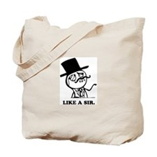 like a sir Tote Bag