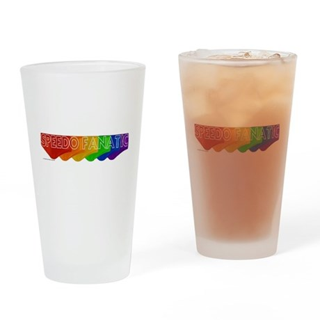 Speedo Fanatic Drinking Glass