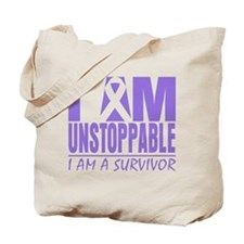 Unstoppable Hodgkins Lymphoma Tote Bag