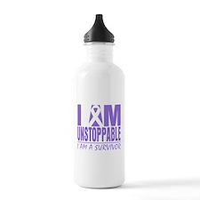 Unstoppable Hodgkins Lymphoma Water Bottle