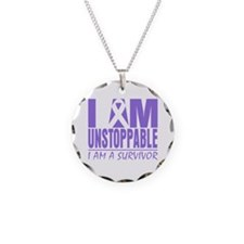 Unstoppable Hodgkins Lymphoma Necklace