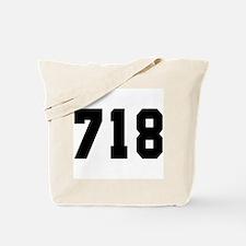 """""""718"""" Tote Bag"""