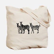 Cool Zebras Tote Bag