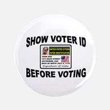 "VOTER FRAUD 3.5"" Button"