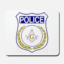 Police - Masonic Mousepad