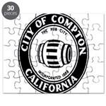Compton City Seal Puzzle