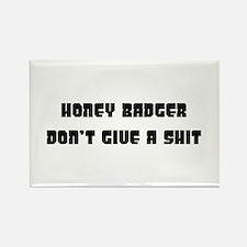 honey badger Rectangle Magnet